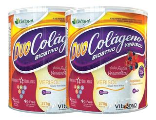 Colageno Hidrolisado Em Pó Verisol Duo 2 X 275g - Katigua