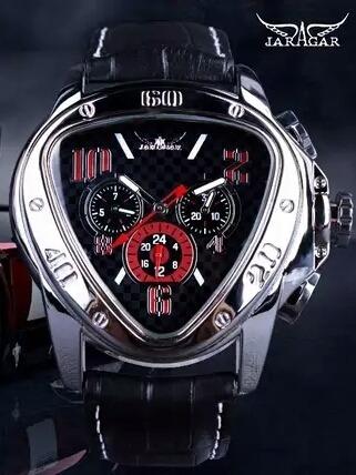 Relógio Jaragar Sport Racing Masculino Geométrico Pulseira D