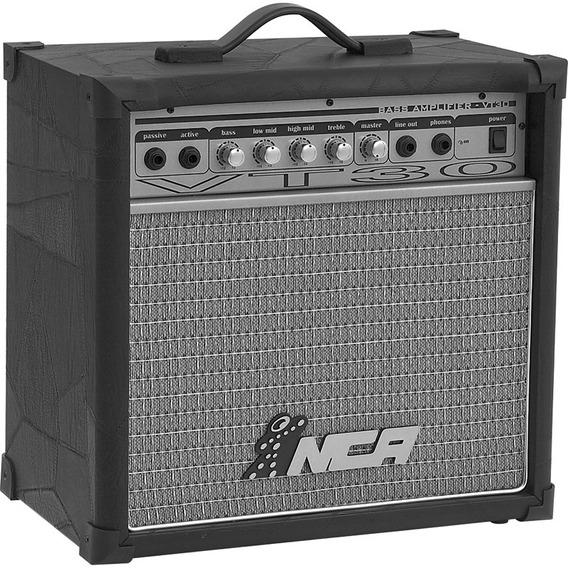 Amplificador Para Contra-baixo Nca Bass Vt60 60w Rms Bivolt