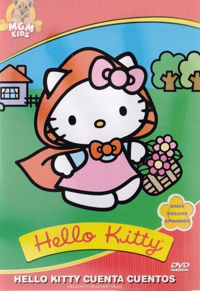 Hello Kitty Cuenta Cuentos Coleccion 5 Episodios Dvd