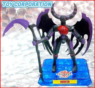 Reaper Figura Articulada Con Base De Bakugan Battle Brawlers