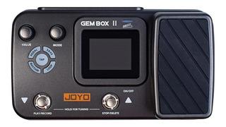 Joyo Gembox 2 Pedalera Efectos Guitarra Loop Y Pedal
