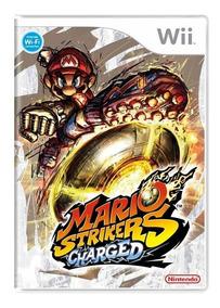 Mario Strikers Charged Wii Mídia Física + Pôster Brinde