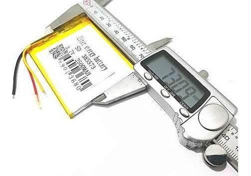 Bateria Gps 7 Pol 2500mah Powerpack Gps Tc 7099 Tc7099 Mp3