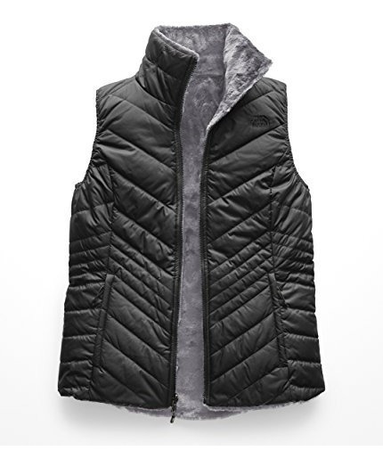 Chaleco The North Face Para Mujer Reversible Ligero Gris Neg