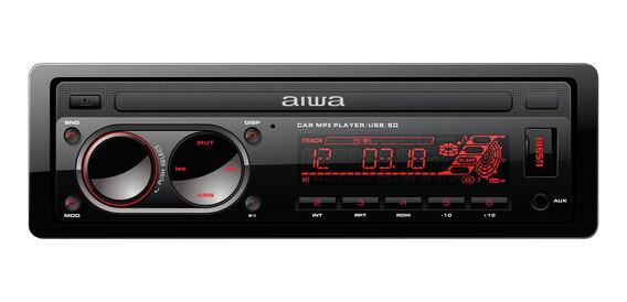 Reproductor De Musica Aiwa 1 Din Bluetooth Radio Nuevo
