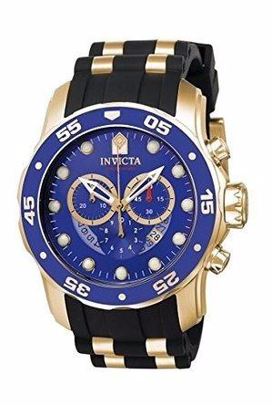 Relógio Invicta Pro Diver - 6983 Banhado A Ouro18k Masculino
