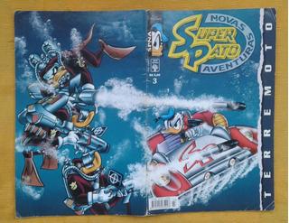 Hq Superpato - Novas Aventuras /abril (1998) Nº 3 E Nº 6