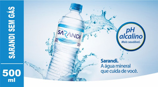 Aguá Mineral Sarandi 500ml