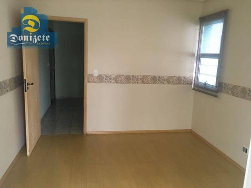 Sala Para Alugar, 36 M² Por R$ 900,00/mês - Vila Guiomar - Santo André/sp - Sa0545