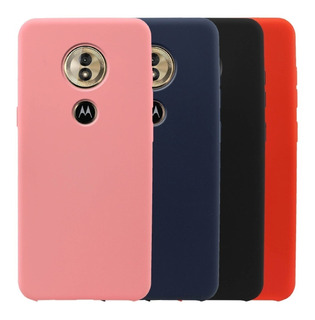 Estuche Protector Forro Silicone Case Motorola Moto G6 Play