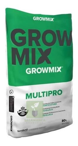 Sustrato Profesional Growmix Multipro 80 L / Salamanca Haedo