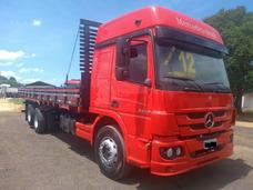 Mercedes Benz Mb Atego 2428 Cabine Leito Teto Alto Truck 6x2