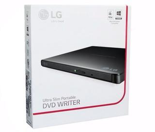 Lectora Dvd Externa Grabadora Lg Slim Usb Garantia