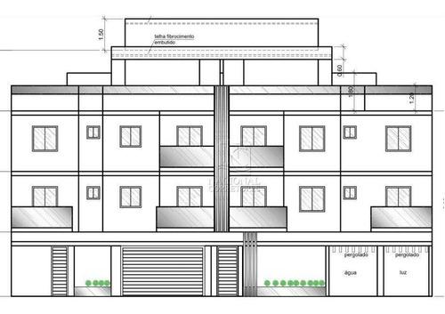 Cobertura Com 3 Dormitórios À Venda, 128 M² Por R$ 720.000,00 - Jardim - Santo André/sp - Co5024