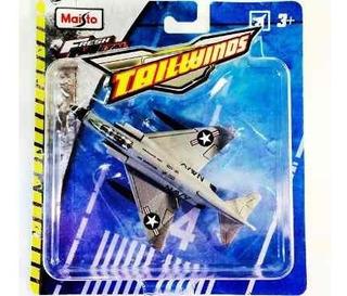 Miniatura Avião Mcdonnell Douglas F-4j Tailwinds Maisto