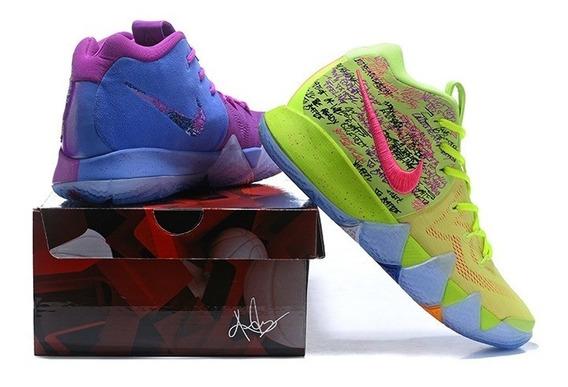 Tênis Nike Kyrie 4 Duas Cores Shoes Original Basquete