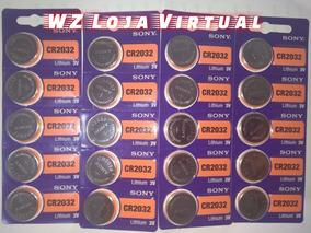 Bateria Cr2032 3v Sony 20 Unidades Plac Mãe