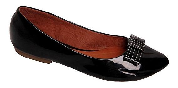 Sapato Sapatilha Sandália Feminina Bico Fino