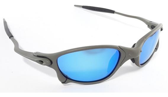 Óculos Juliet Double X Metal 24k Squared Lentes Polarizada