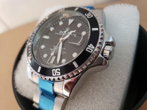 Relógio Submariner Prata / Dourado