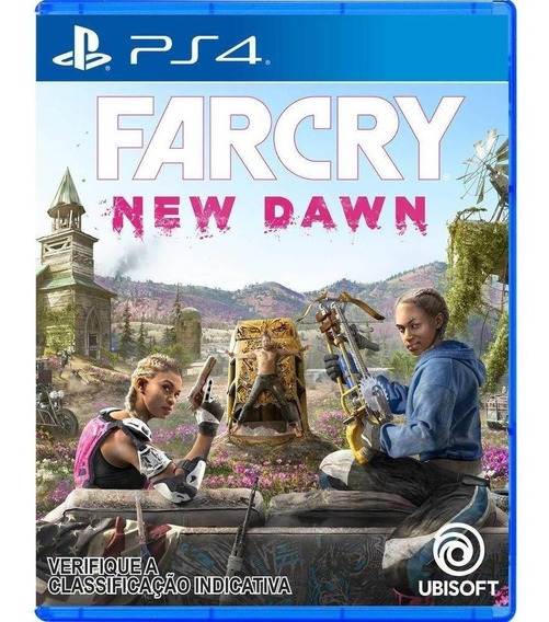 Far Cry New Dawn Ps4 Midia Fisica Lacrado Dublado Português