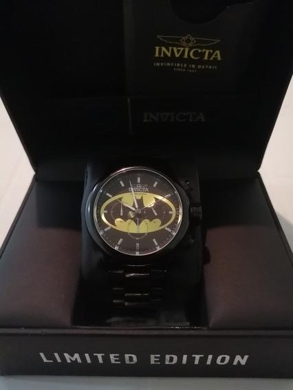 Reloj Invicta Dc Batman Limited Edition