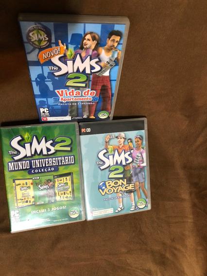 The Sims2 Vida De Apartamento,bon Voyage,mundo Universitário