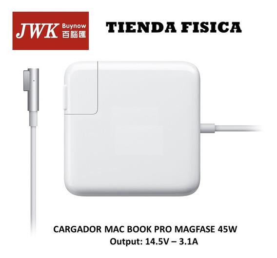 Cargador Macbook Air Magsafe 45 W Tipo L Jwk