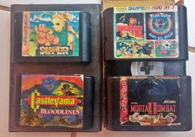 Lote Jogos De Mega Drive