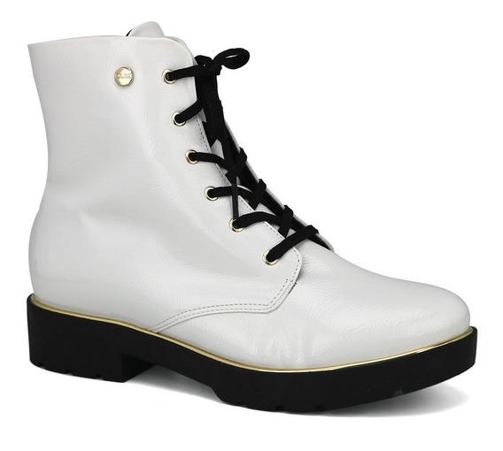 Promoção Bota Ankle Boot Coturno Feminino Quiz 69-55804