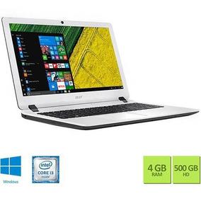 Notebook Es1-572-347r Intel Core I3 4gb 500gb Tela 15,6 Hd