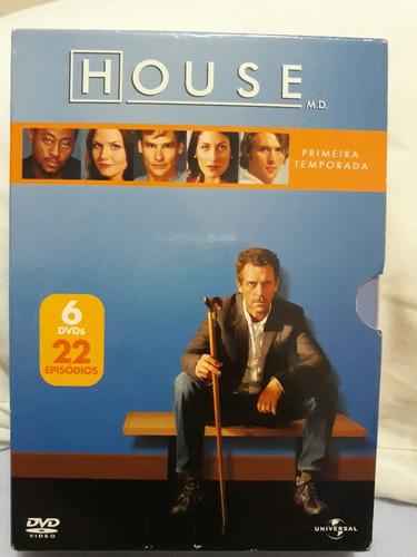 Imagem 1 de 3 de Box Dvd Serie Dr. House - Temp. 1 - Original