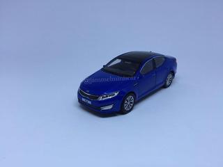 Miniatura Kia Optima (k5) Azul - 1/38 - Welly