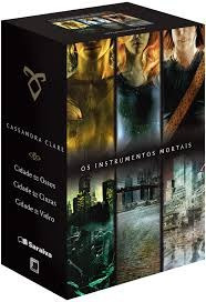 Box: Os Instrumentos Mortais (3 Volumes Cassandra Clare
