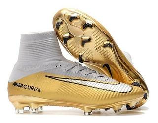 Chuteira Futebol Campo Nike Mercurial Superfly V Cr7