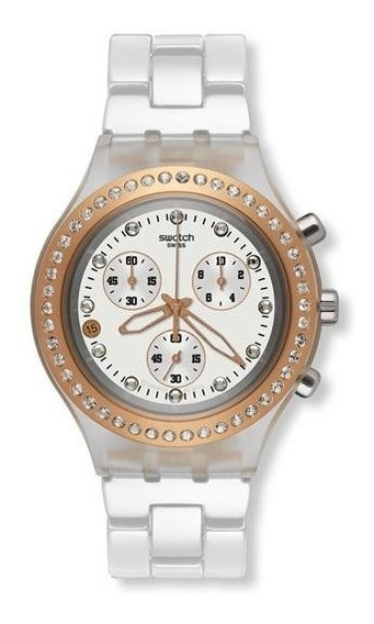 Relogio Unisex Swatch Svck4067ag Full Blooded Original