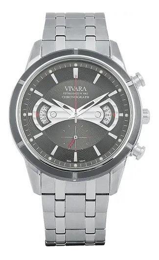 Relógio Vivara Masculino Aço - Ds11698c-1