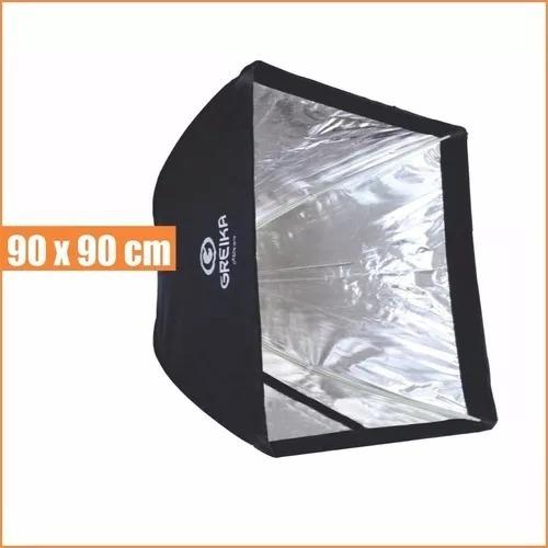 Softbox 90x90 Cm Tipo Sombrinha Universal