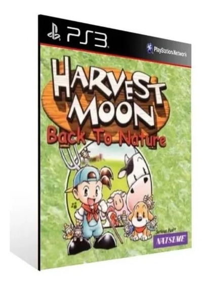 Harvest Moon Back To Nature Ps3 Jogo Psn Envio Já