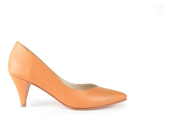 Zapatos De Mujer Stilettos De Cuero Lori - Ferraro -