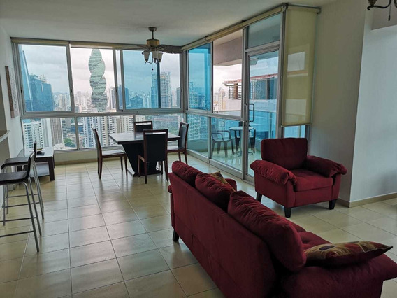 Apartamento Amueblado En Ph Grand Bay Tower , Av Balboa