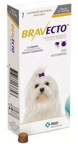Bravecto Comprimido Para Cães De 2 A 4,5kg Val Set 19