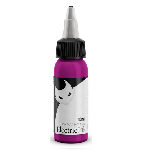 Tinta Electric Ink Magenta Tattoo 30ml + Brinde