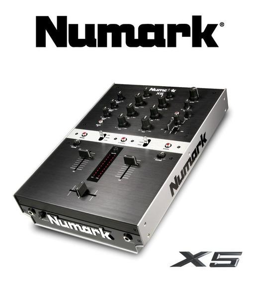 Mixer Numark X5 Digital - Serato Technics Mk2 Traktor V7 Ns7