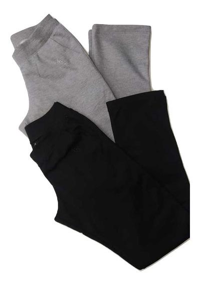 Pantalon Ks Algodon Frizado Dama (lm)