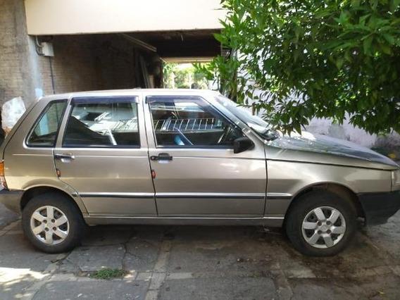 Fiat Uno 2001 - 4 Portas E Ar Condicionado