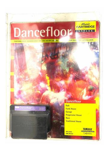 Cartucho Teclado Yamaha Psr Dance Floor Novo Original