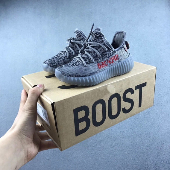 Tênis Kids adidas Yeezy Boost Shoes Infantil Original