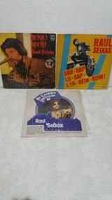 Raul Seixas - Coleção De 3 Discos De Vinil